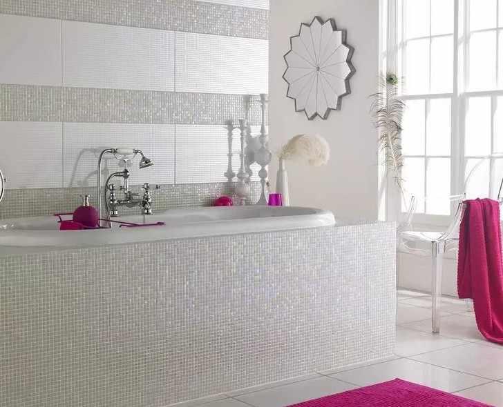 керамическая плитка 150х150 белая
