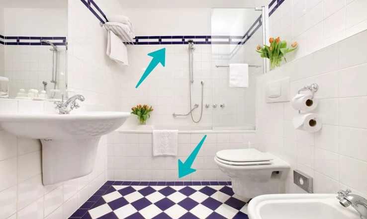 как выбрать плитку в ванную