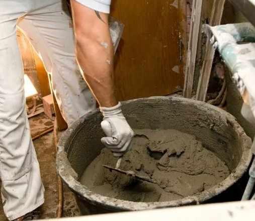 изготовление песчано цементной смеси