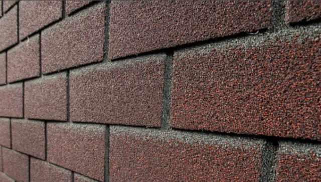 облицовочная плитка для фасада битумная