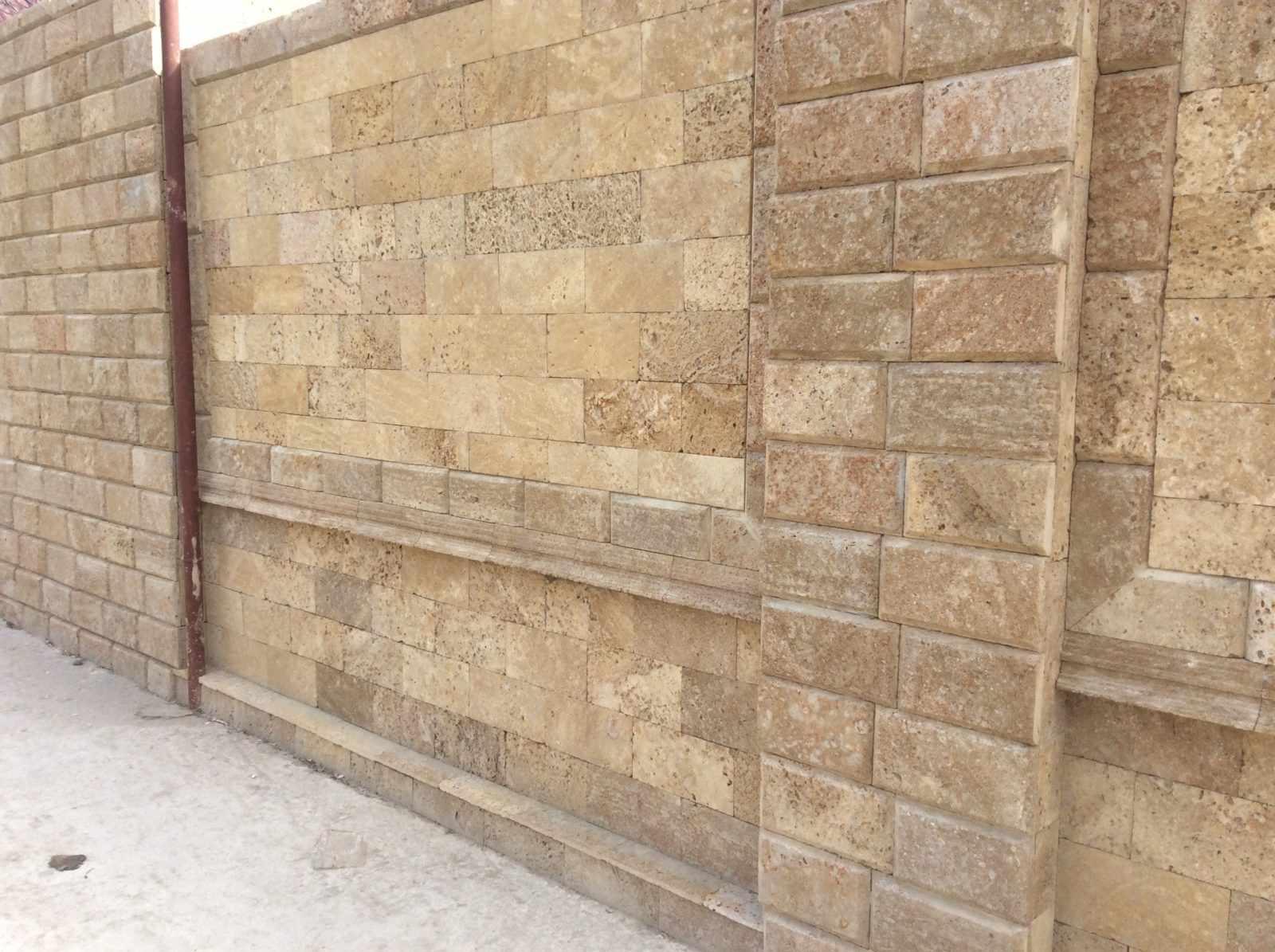 облицовочная плитка для фасада ракушечник