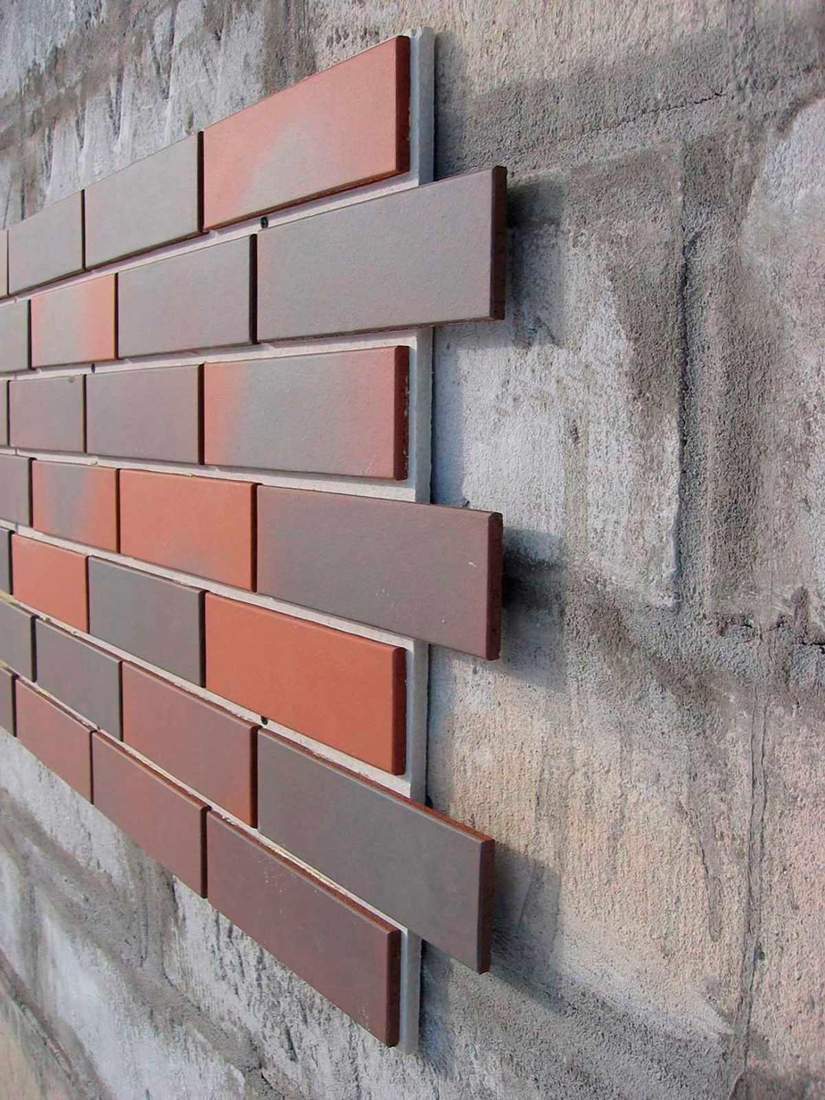 облицовочная плитка для фасада клинкер