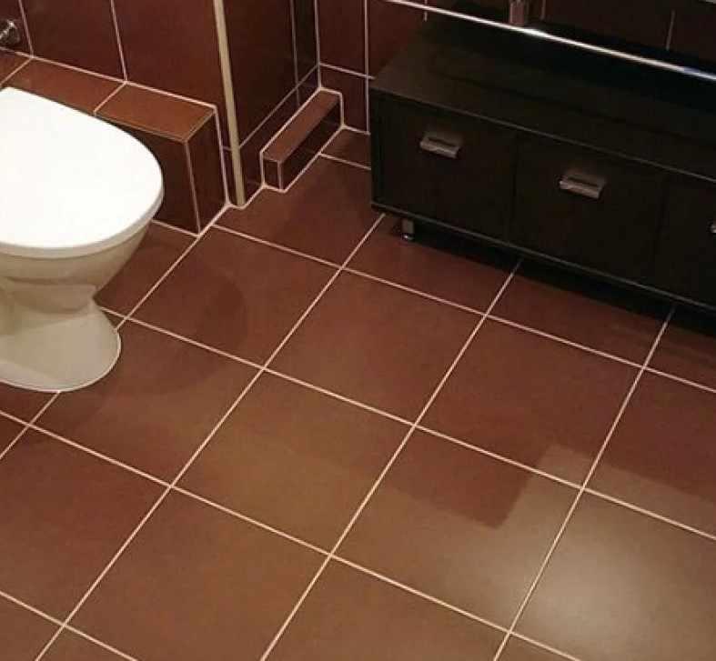 Традиционная укладка плитки на пол