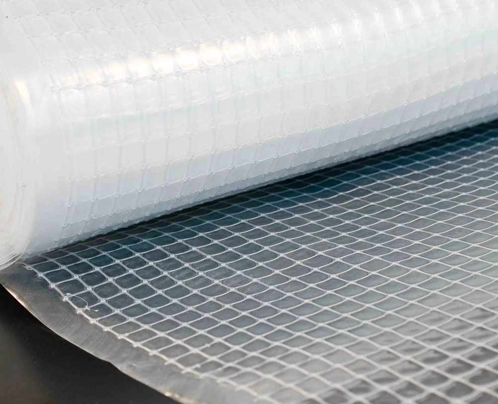 стекловолоконная сетка на полу