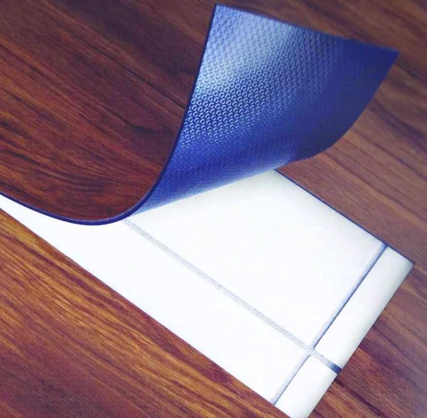 Пвх плитка с самоклеющейся основой