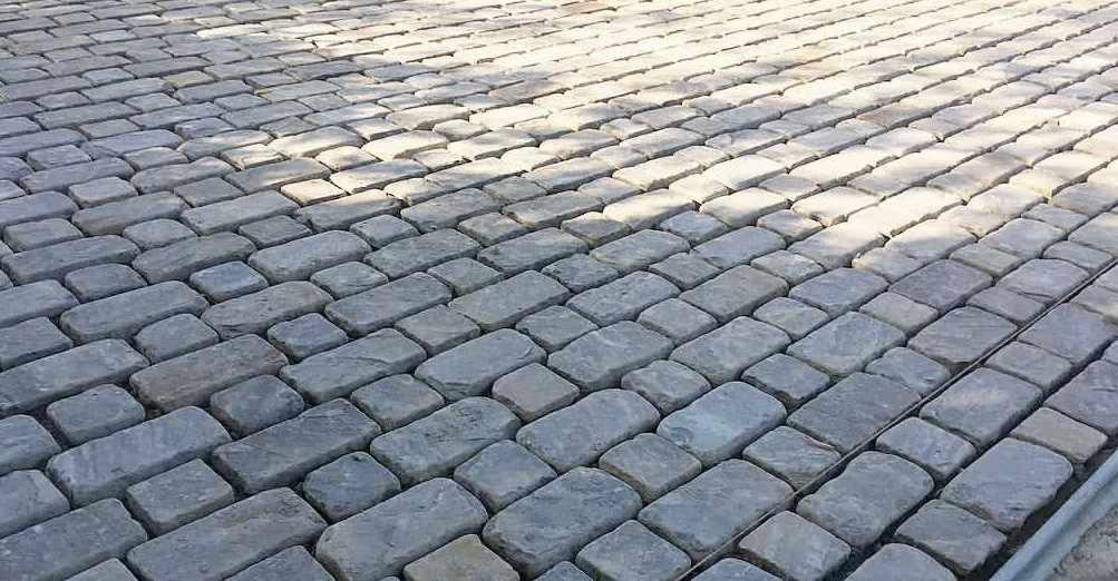 Тротуарная плитка Галтованная