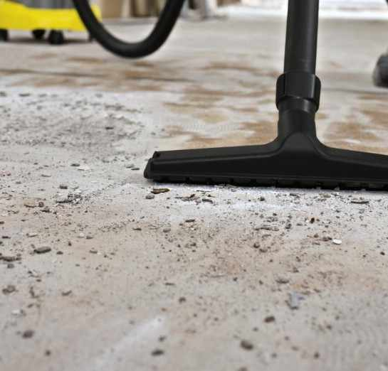 Очистка поверхности перед укладкой плитки