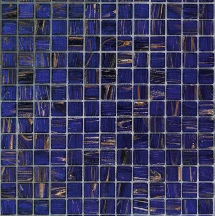 Мозаика из однотонного стекла