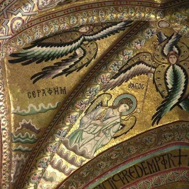 византийская мозаика в интерьере