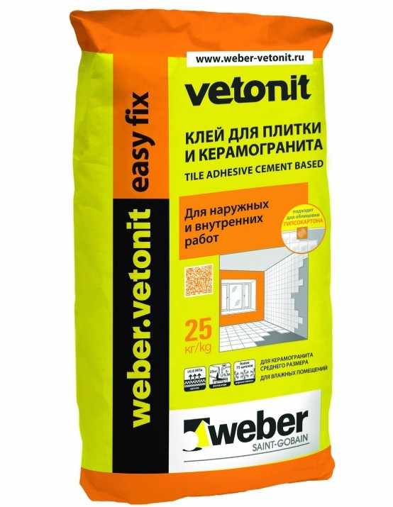 Weber vetonit ultra fix