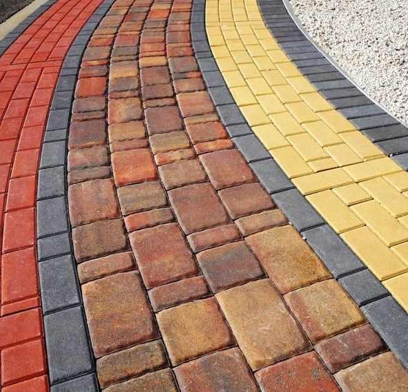 Цветная бетонная смесь