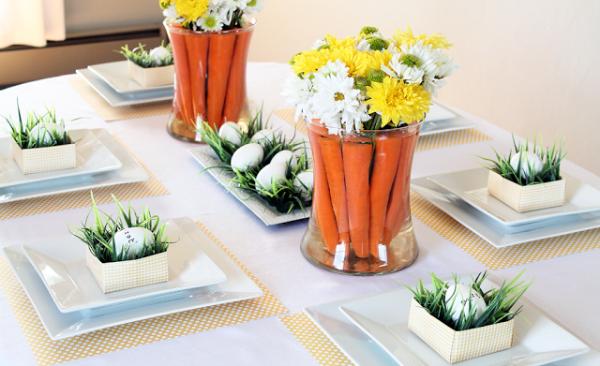 Как украсить стол на Пасху – лучшие идеи праздничного декора