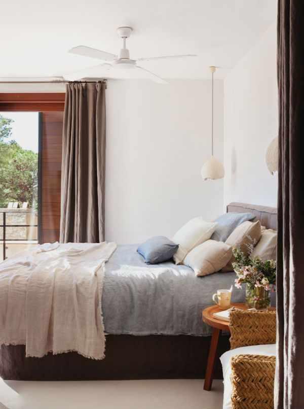 Испанский дом оформленный в тропическом стиле (по мотивам отпускного отдыха)