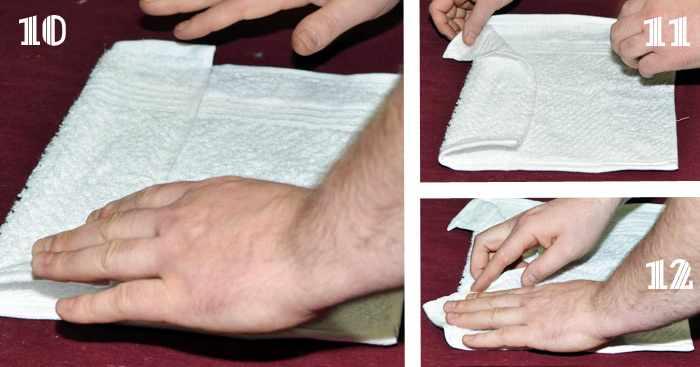 Как сделать летучую мышь из полотенца своими руками (идея подарка на Хэллоуин)