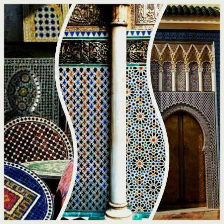 Узоры в Марокканском стиле.