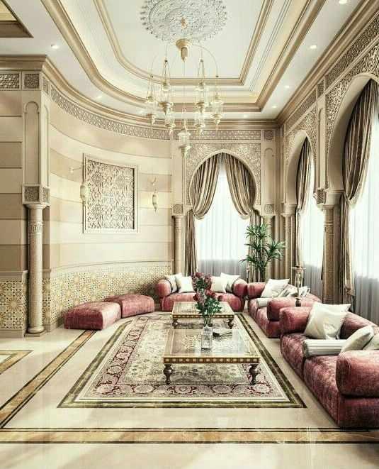 Интерьер в Арабском стиле.