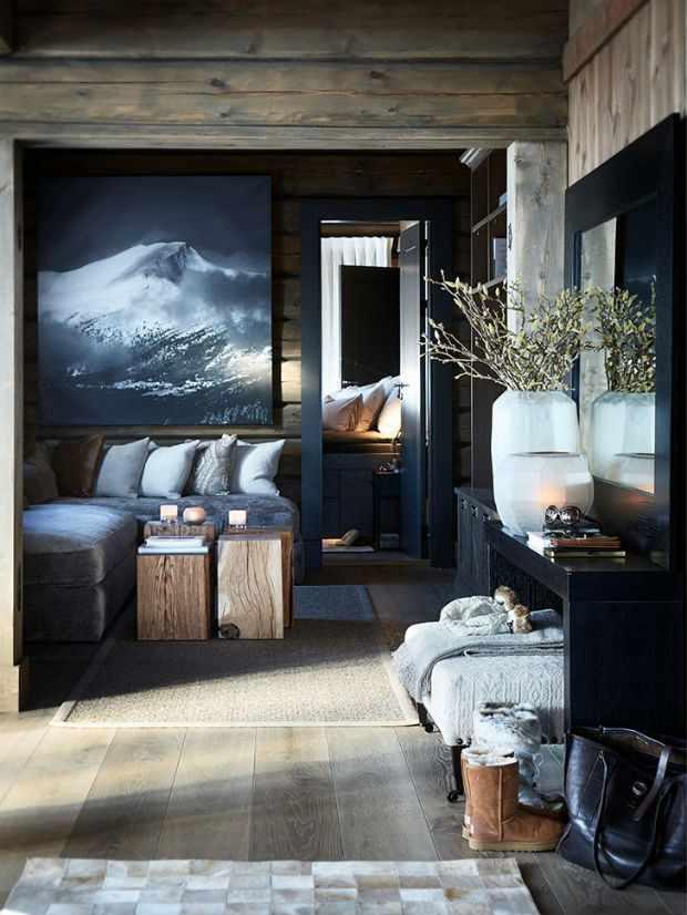 Колоритный дом в Норвегии с ощущением вечного новогоднего праздника