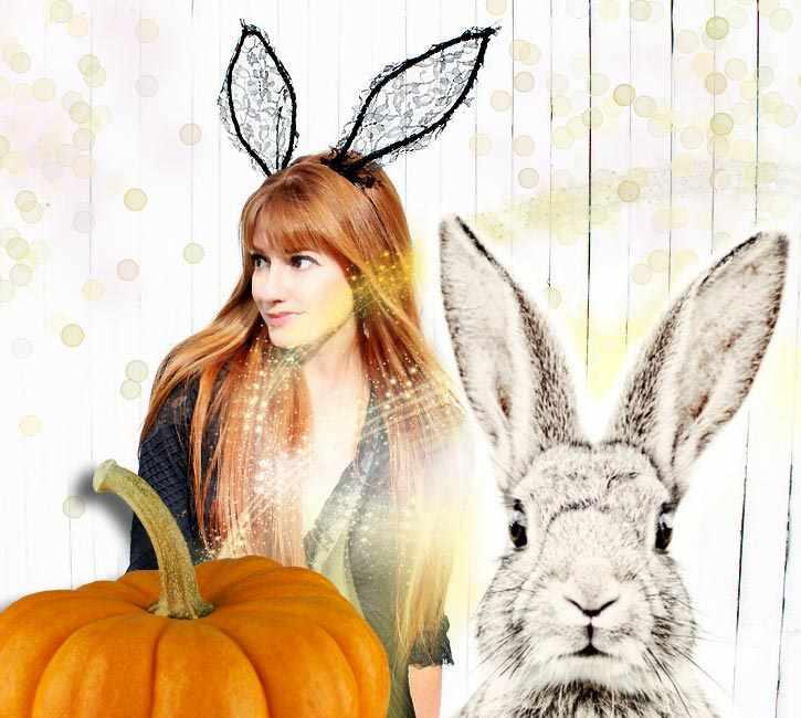 Как быстро и легко сделать уши кролика на Хэллоуин своими руками