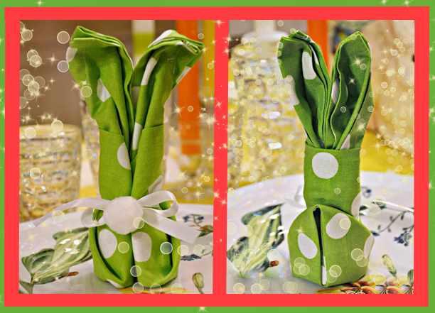 Как сделать зайчика из салфетки: инструкция с пошаговыми фото