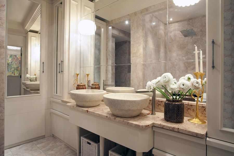 Дизайн американской ванной