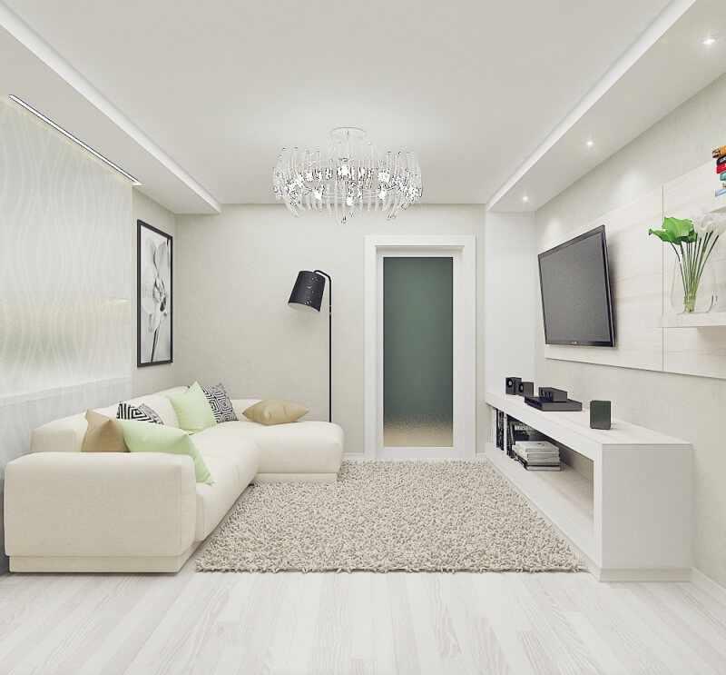 Белая гостиная