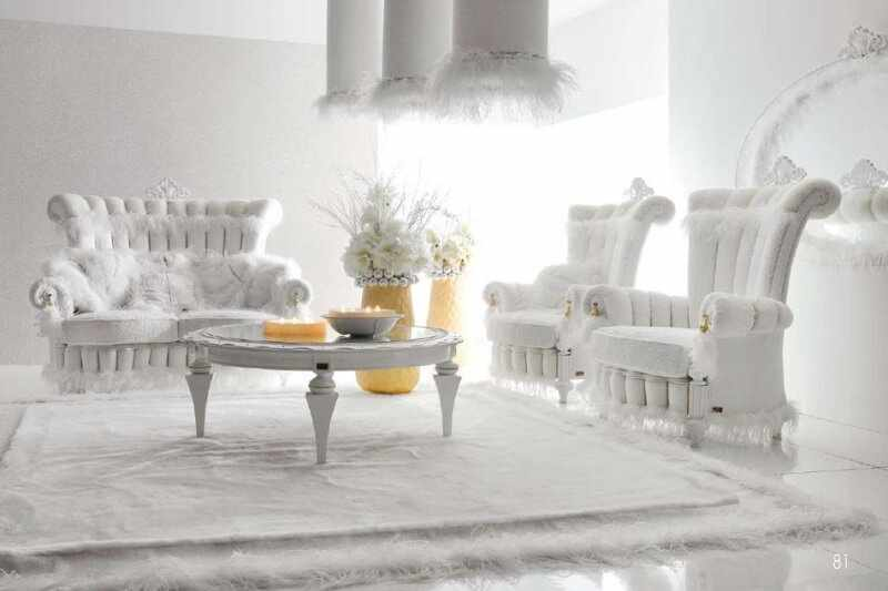 Белый цвет в интерьере квартиры