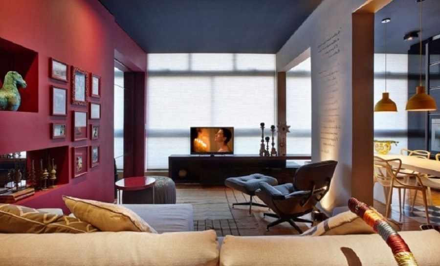Цвет марсала в интерьере квартиры