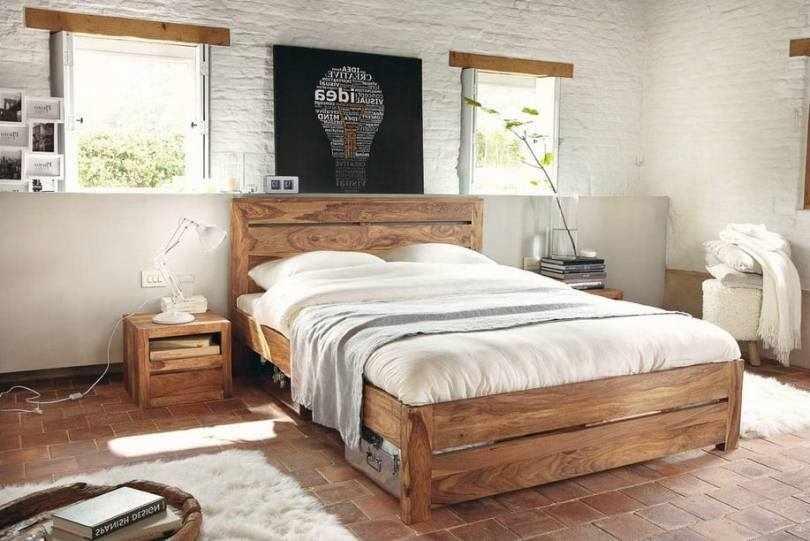 Напольная плитка в спальне