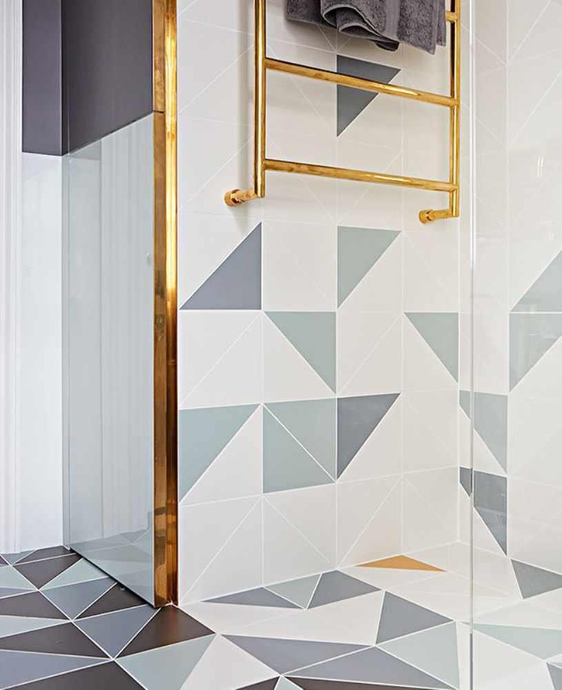 Золотая лестница для полотенец