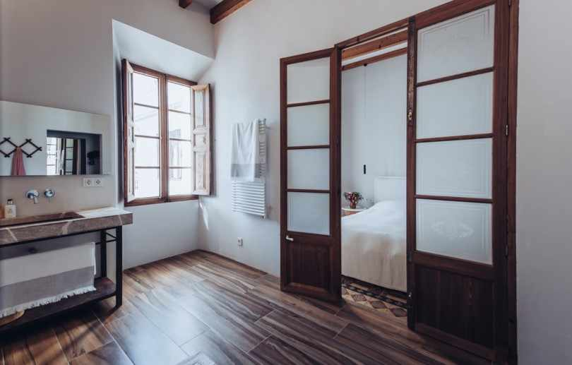 Ванная в доме на Майорке
