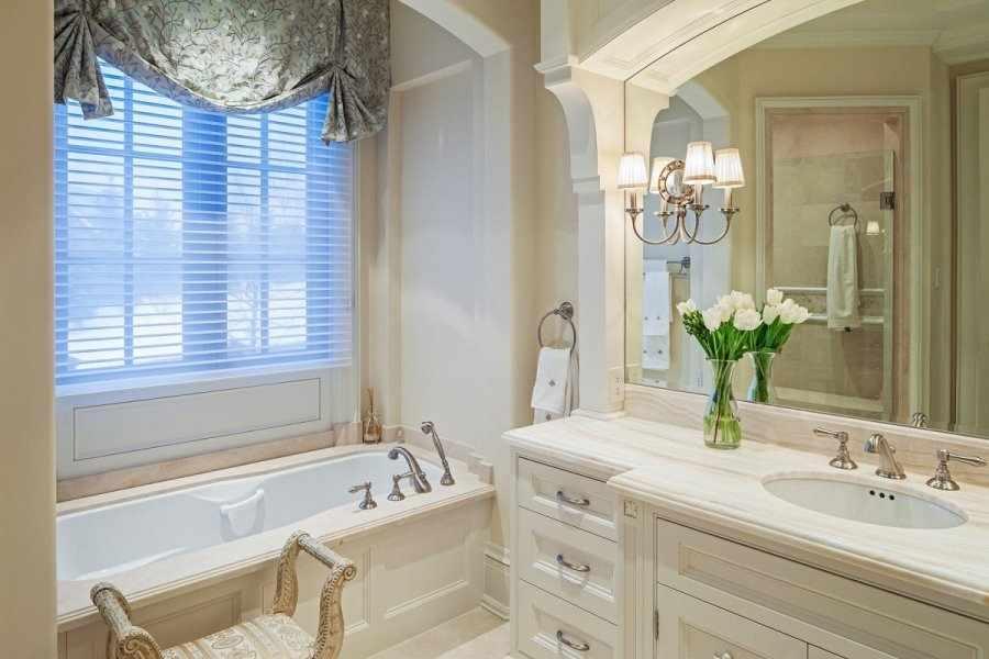 Классический французский дизайн ванной