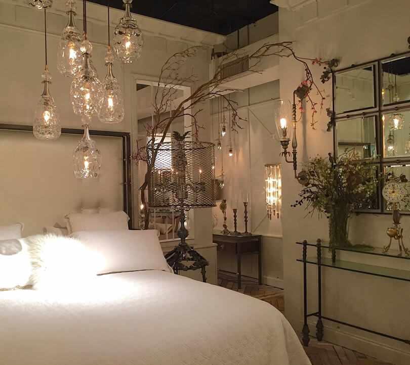 Спальня в стиле хюгге