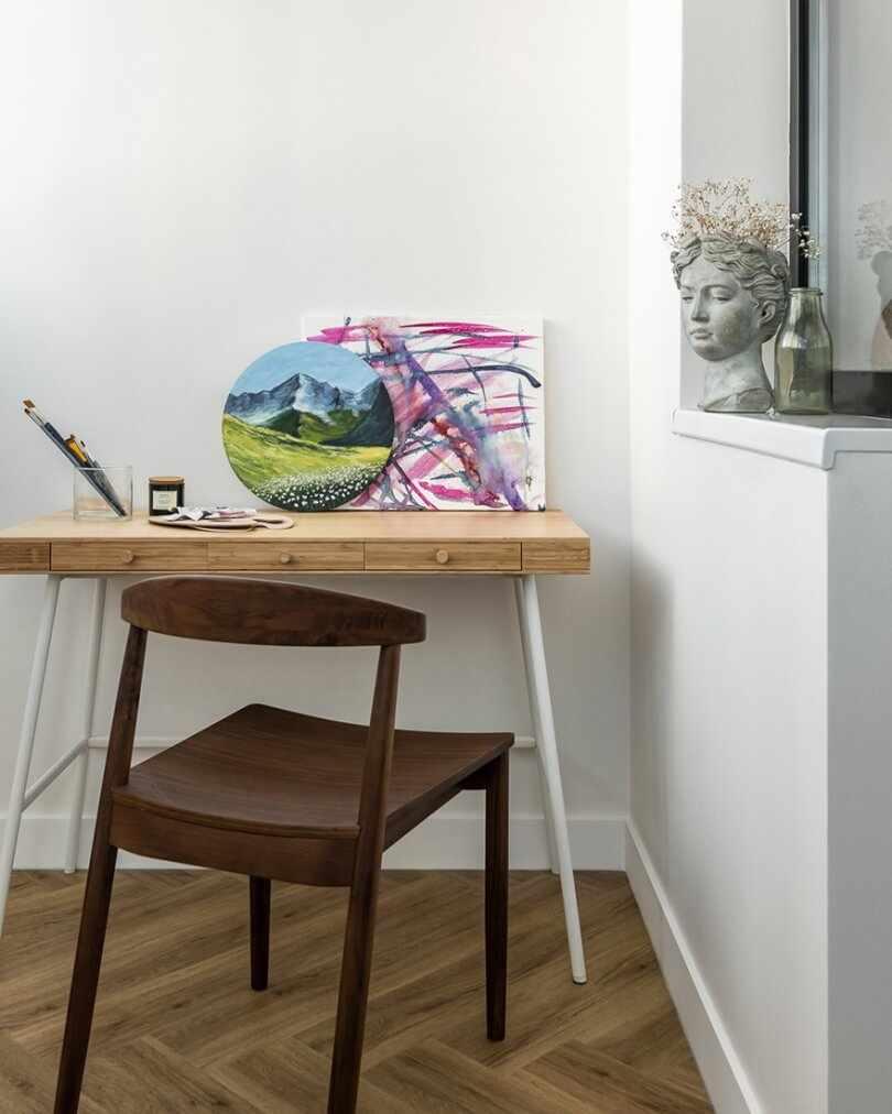 Рабочий стол с рисунками