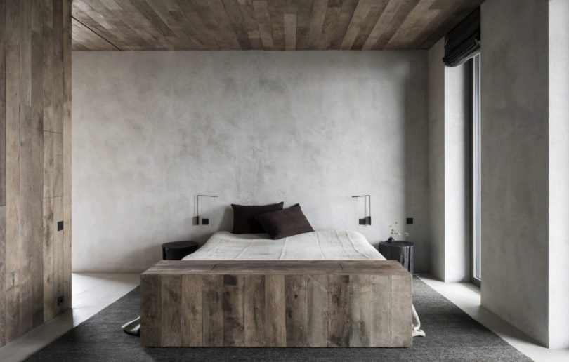 Ваби саби в интерьере спальни