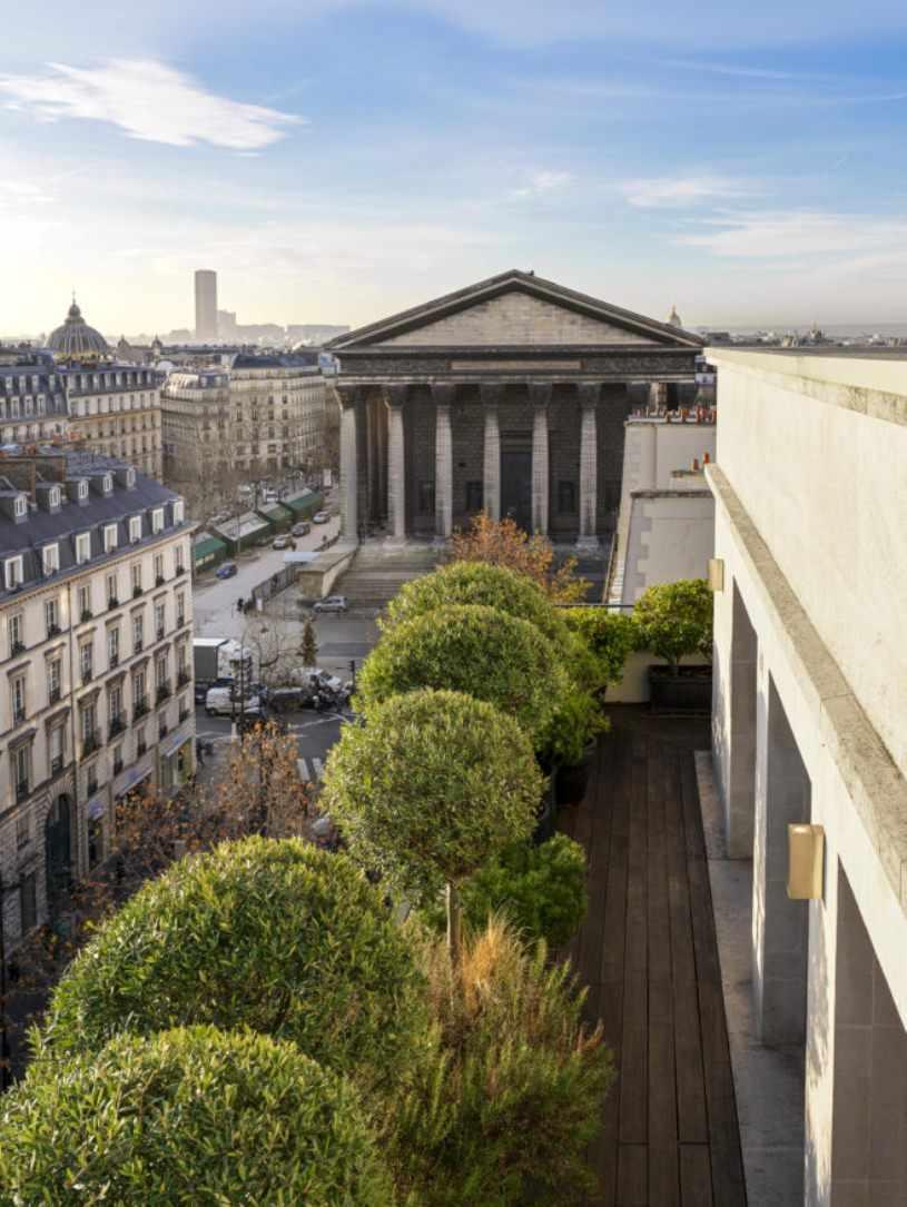 Здание XIX века в Париже