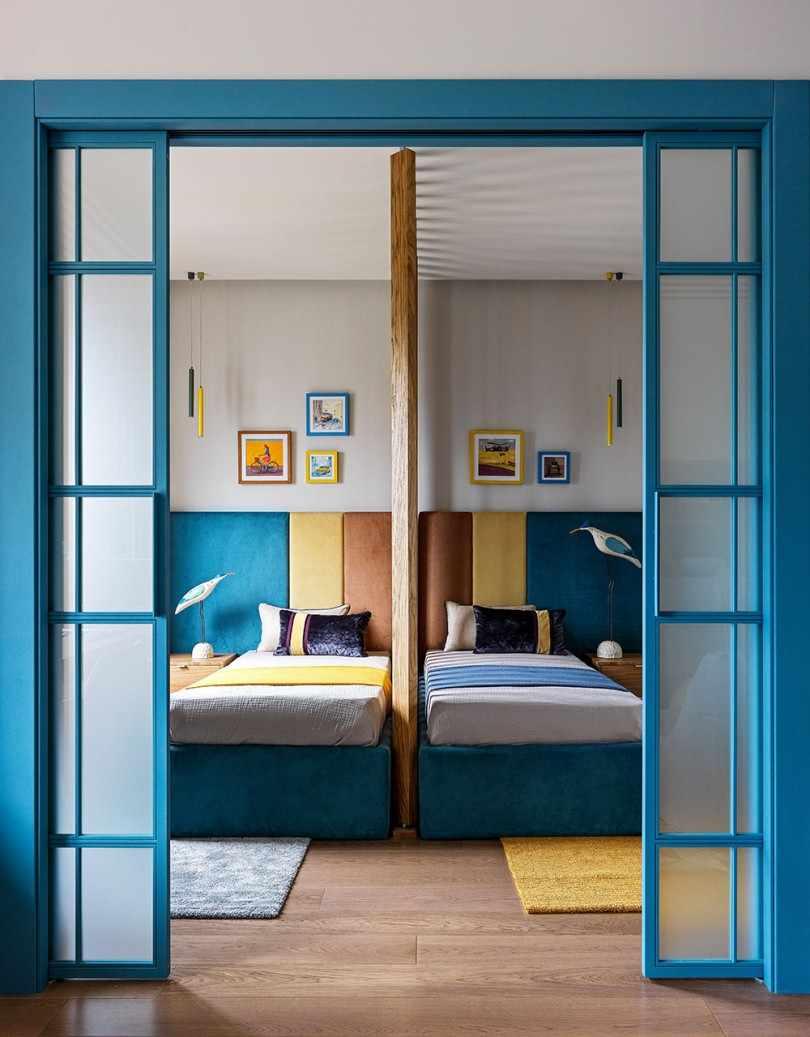 Детская комната с перегородкой