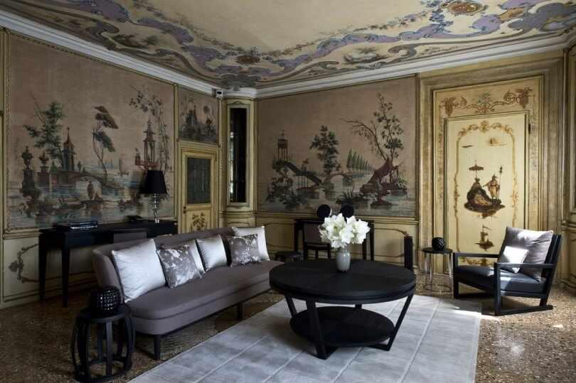 Интерьер в венецианском стиле