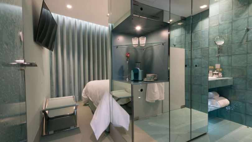 Интерьер отеля WC Beautique Hotel в Лиссабоне