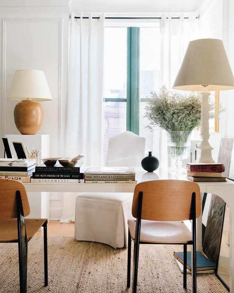 Домашний офис в интерьере