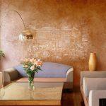 Фрагмент старинного города на стене