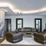Светодиодная лента на потолке