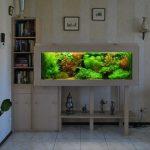 Шкафчик с аквариумом
