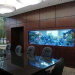 Кабинет с аквариумом
