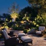 Подсветка площадки для отдыха
