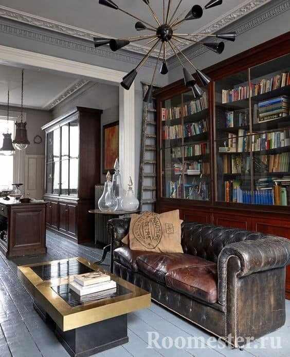 Мебель для английского стиля