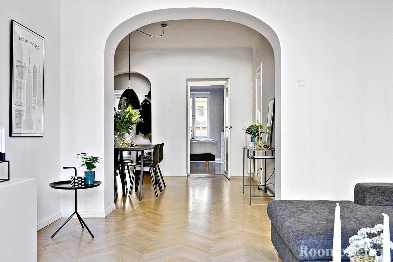 Простая арка в ровень со стеной