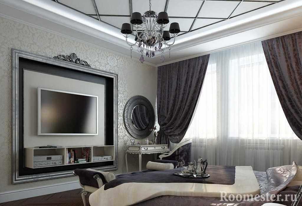 Спальная комната в стиле арт деко