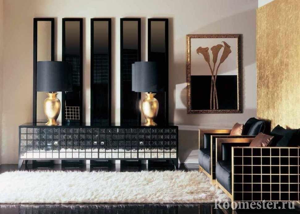 Мебель соответствующая стилю