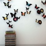 Бабочки из виниловых пластинок