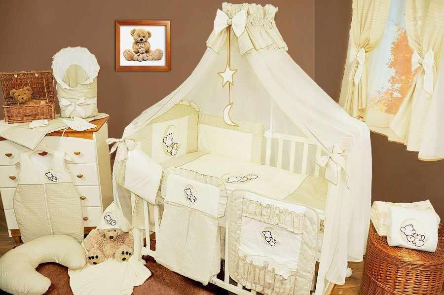 Крепление балдахина на детской кроватке